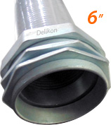 Delikon 6 inches liquid tight conduit and fittings