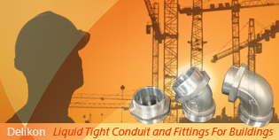 Delikon Metal Liquid Tight Conduit for industrial and commercial wirings