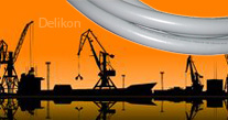 Delikon Liquid Tight Conduit, Liquid Tight fittings for Port Equipment and Cargo Crane Cable Protection