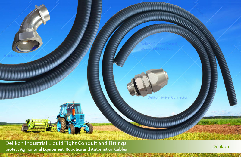 Thermoplastic Rubber Covered Metal Liquid Tight Conduit (YF-906)