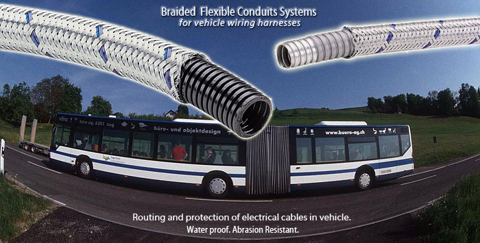 busl1 braided flexible conduit systems for use on vehicle wiring harnesses sealed trailer wiring harness at arjmand.co