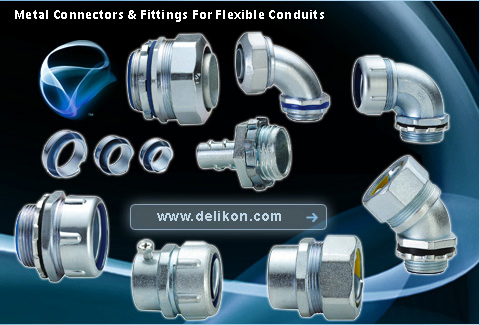 Flexible Metal Conduit Connectors & Fittings