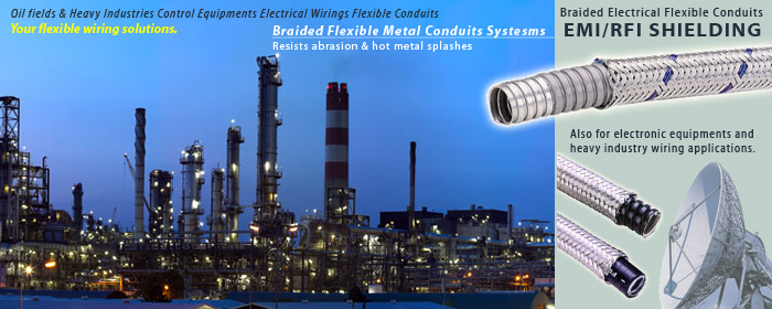 EMI/RFI Shielding Flexible Conduits