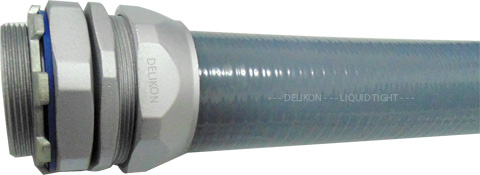 Delikon liquid tight conduit and liquid tight conduit fittings for power plant