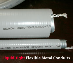 Metallic Liquid tight Conduit