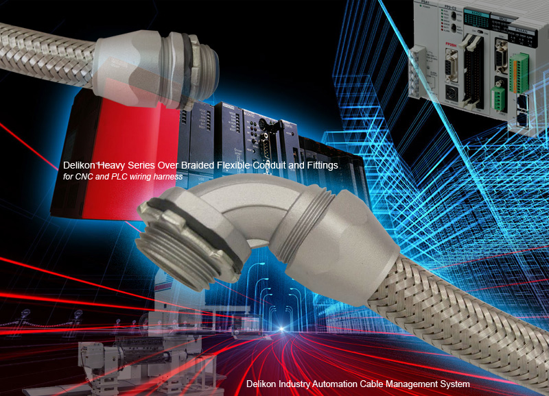 Pleasing Delikon Heavy Series Over Braided Flexible Conduit And Fittings For Wiring Digital Resources Remcakbiperorg