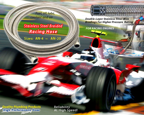 Stainless Steel Braided Racing Hose